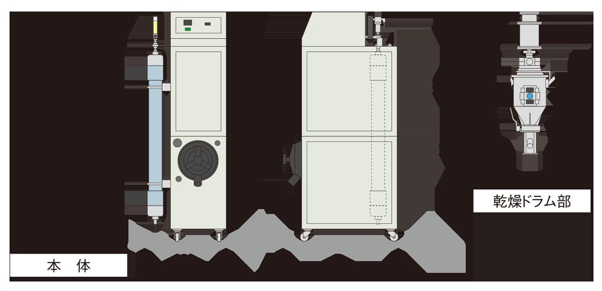 NX-N主要外形寸法